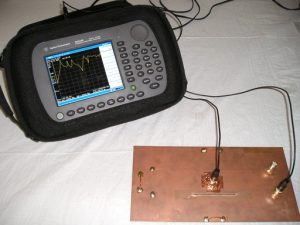 test setup board